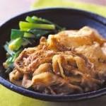 レシピ ~豚バラの肉豆腐~