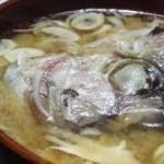 レシピ ~鯛のアラ汁~