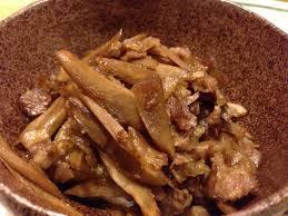 レシピ ~豚のしぐれ煮~